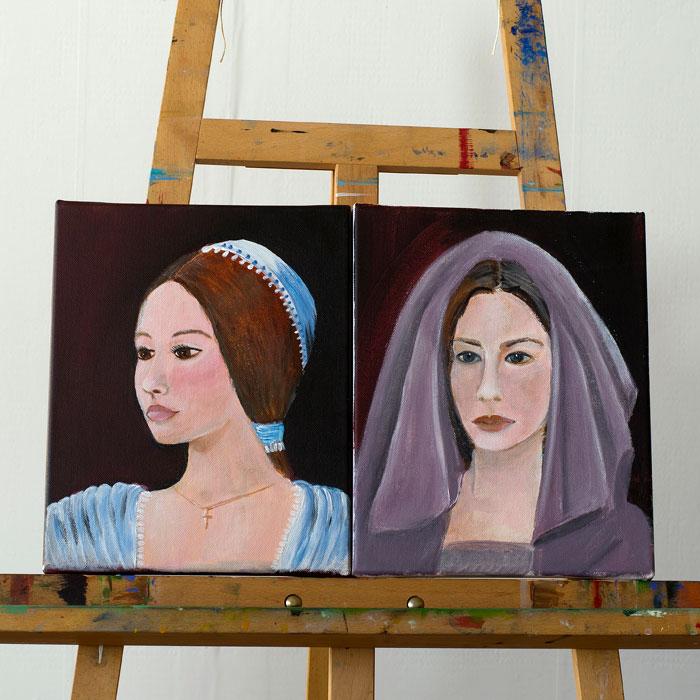 Portrét a postava