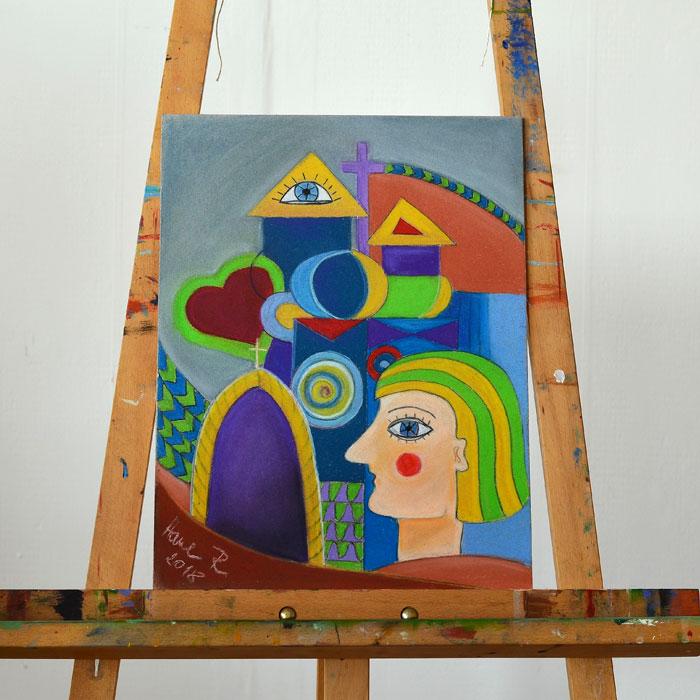 Suchý pastel